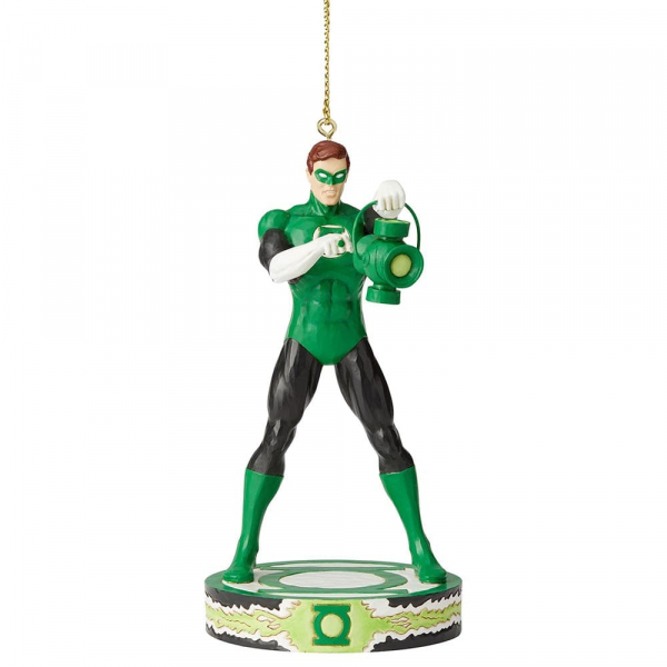 Disney Traditions, Jim Shore, Silver Age - DC Comics Justice League, Green Lantern Ornament / Anhänger