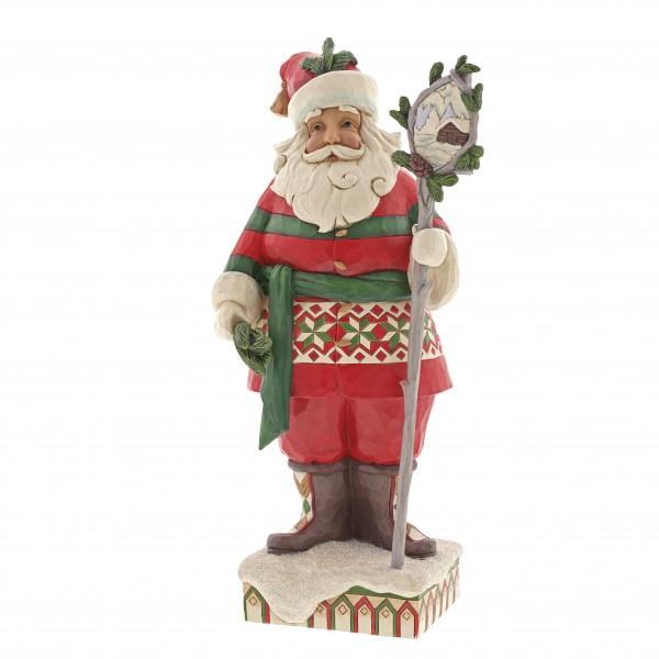 Heartwood Creek, Jim Shore, Wonder in the Wilderness Santa, Weihnachtsmann, 6001469