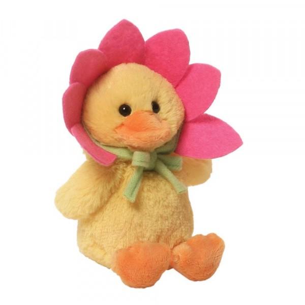 Flower Duck / Blumenente, pink
