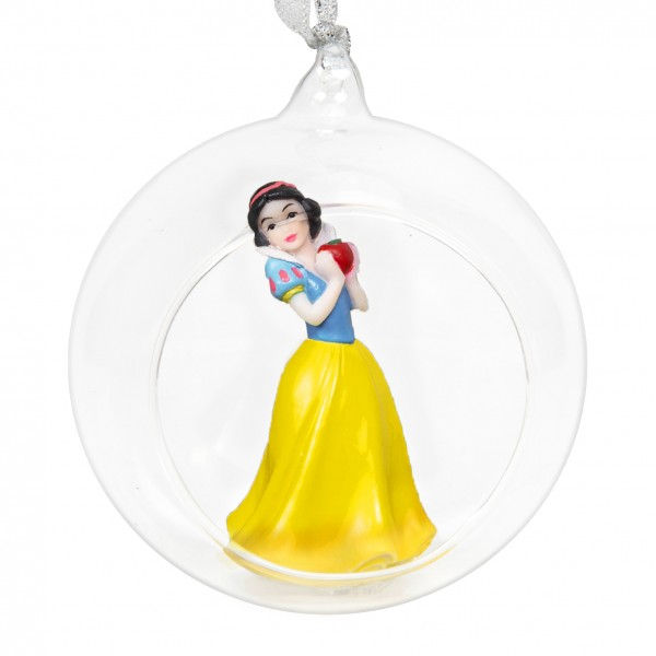Widdop, Disney by Widdop, DIsney Classic, Walt Disney Disneyfigur, Schneewittchen, Snow White, Weihnachtsschmuck, Anhänger, Tannenbaumanhänger, Weihnachtsanhänger, Weihnachtskugel, XM5705