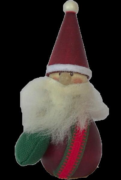 Nordika Design, Kerzenringe, Steckfiguren, Weihnachtsmann mit Sack, DSW15