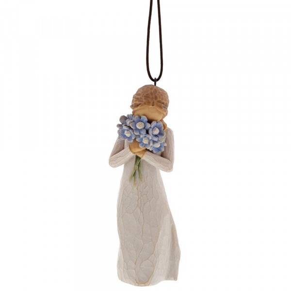 Willow Tree, Willowtree, Susan Lordi, Demdaco, Forget-Me-Not Ornament, Anhänger