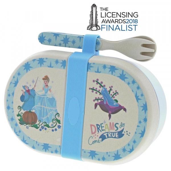 Enchanting Disney, Bambus Brotbox, Snack Box, Cinderella