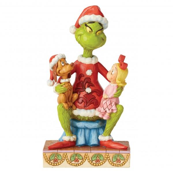 The Grinch, Der Grinch, Grinch with Cindy and Max, Grinch mit Cindy und Max