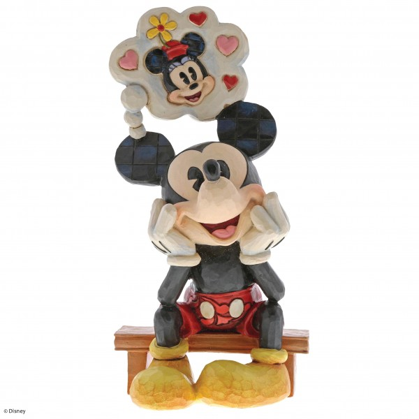 Disney Traditions, Jim Shore, Thinking of You - Ich denke an dich Mickey / Micky