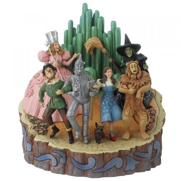 Jim Shore, Wizard of Oz, Der Zauberer von Oz, Wizard of Oz Carved By Heart, Adventure to Emerald City
