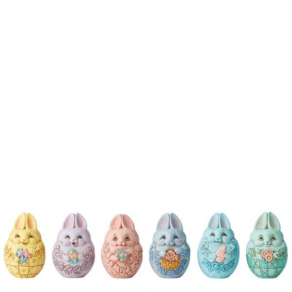 Bunny Eggs - Osterhasen-Osterei, Set mit 6 Stück