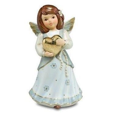 Goebel, Nina und Marco, Engel, Sternenhimmel, Herzallerliebst, Engel mit Herz