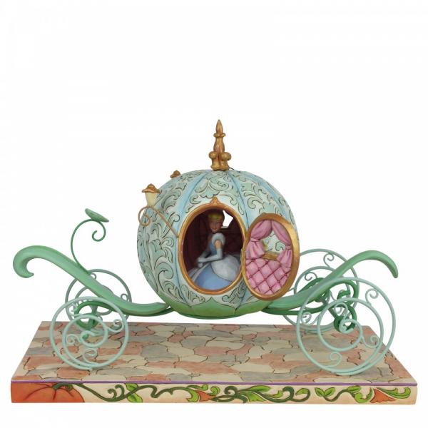 Disney Traditions , Jim Shore, Disneyfigur, Disney Figur, Enchanted Carriage Cinderella, Verzauberte Kutsche, 6007055