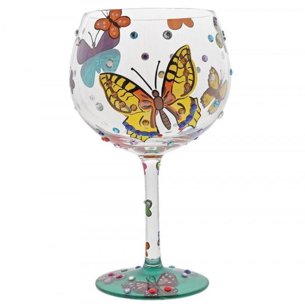 Lolita Weinglas, Lolita Weingläser, Lolita Gläser, Lolita Ginglas, Lolita Gingläser, Lolita Gin Glass, Butterflies, Schmetterlinge