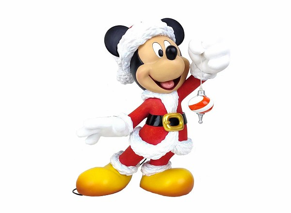 Disney Showcase, Disney Showcase Collection, 6009029, Santa Mickey, Santa Mickey Couture de Force, Micky Weihnachtsmann