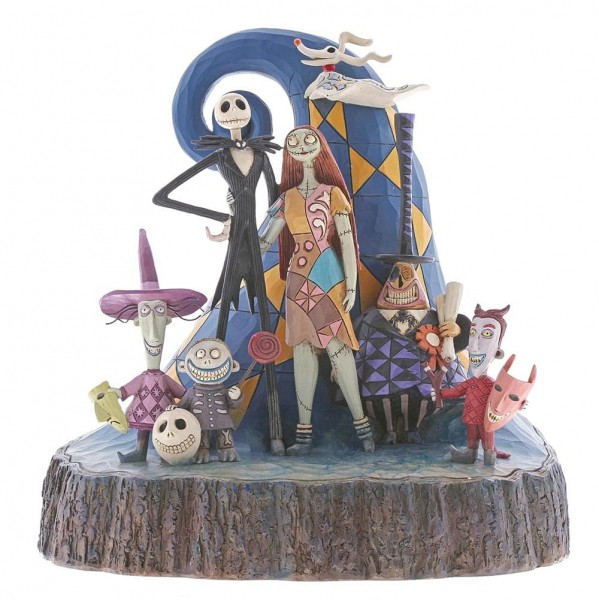 DIsney Traditions, Jim Shore - What A Wonderful Nightmare - Nightmare Before Christmas, 6001287