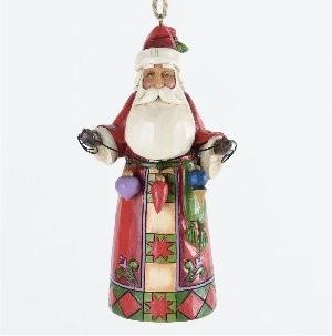 Heartwood Creek, Jim Shore, Santa with Ornaments - Weihnachtsmann, Anhänger