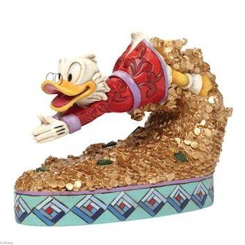Disney Traditions, Jim Shore - Treasure Dive Scrooge Mc Duck / Dagobert Duck
