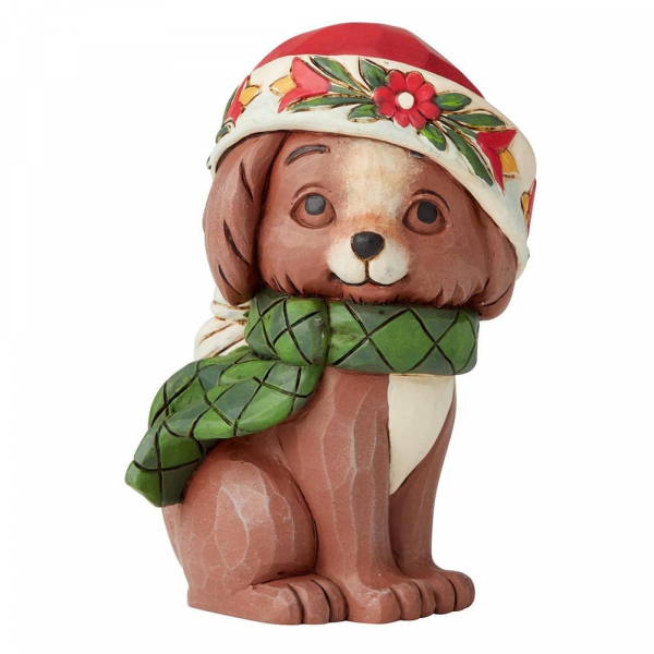 Heartwood Creek, Jim Shore, Christmas Puppy, Weihnachtswelpe