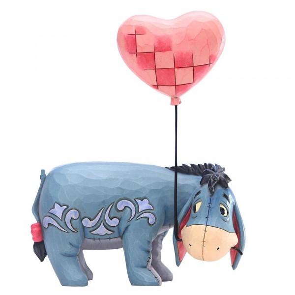 Disney Traditions, Jim Shore, Love Floats, Eeyore, I-Ah mit Herzballon
