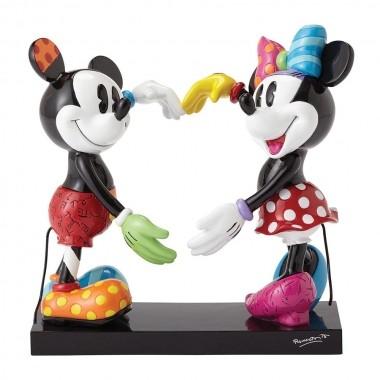 Romero Britto Pop Art aus Miami - Mickey & Minnie Mouse / Micky & Minnie Maus