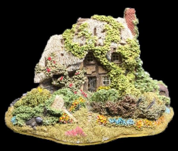 Lilliput Lane, Miniaturhäuser, Miniaturhaus, Cottage, Forget Me Not