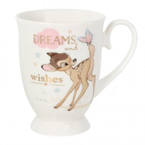 Disney, Walt Disney, Widdop and Co, Disney Magical Beginnings, Bambi Mug, Bambi Becher, Dreams and Wishes, DI1360