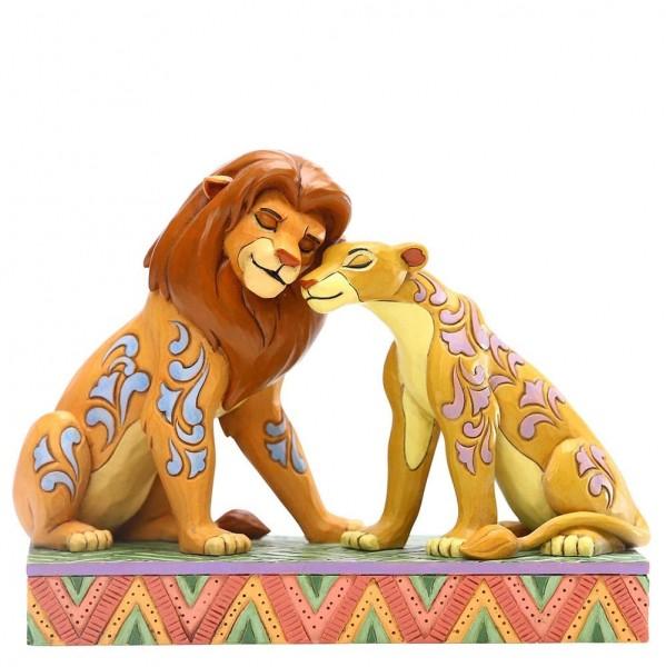 Disney Traditions, Jim Shore, Savannah Sweethearts, Simba and Nala
