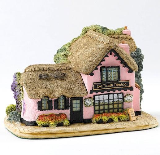 Lilliput Lane, Miniaturhäuser, Miniaturhaus, Cottage, Old Thatch Teashop
