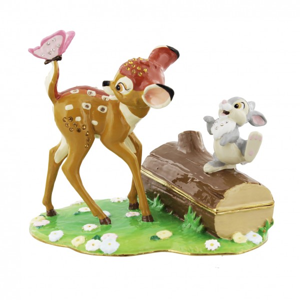 Widdop, Disney Magical Moments, Disney Classic Trinket Box, Bambi & Friends, Schmuckdose