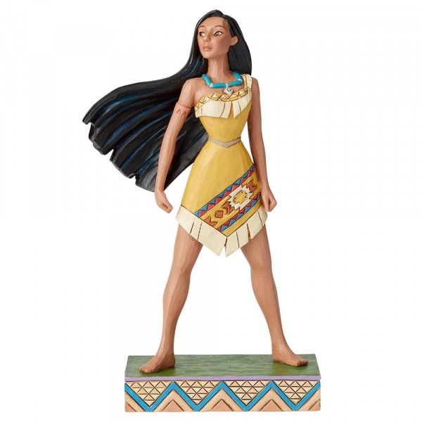 Disney Traditions, Jim Shore - Proud Protector Pocahontas, Stolze Beschützerin / Princess Passion