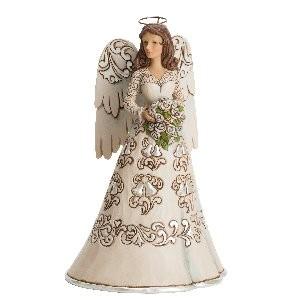 Heartwood Creek, Jim Shore, Blessings On Your Wedding Day Angel, Engel mit Blumen, Hochzeit