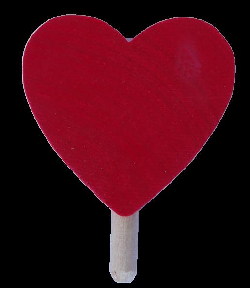 Sebastian Design, Candlering, Kerzenring, Skandinavischer Holzkranz, Skandinavische Kerzenringe, Herz rot, rotes Herz, 46-550-120