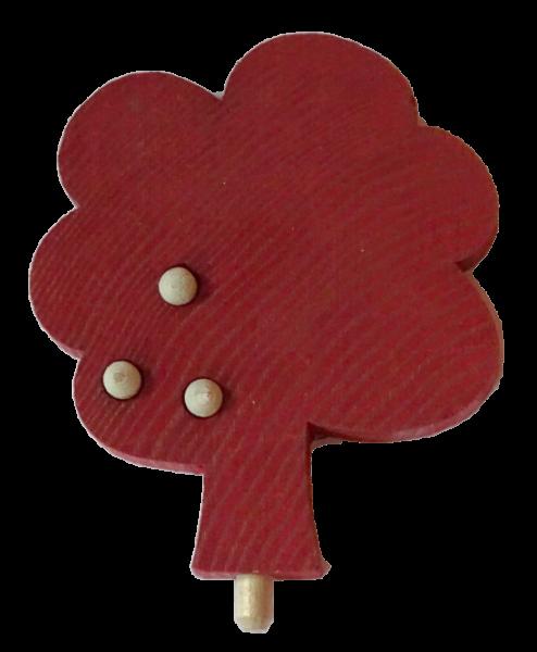 Sebastian Design, Kerzenringe, Kerzenring, Holzkränze, Steckfiguren, skandinavisches Design, Apfelbaum rot