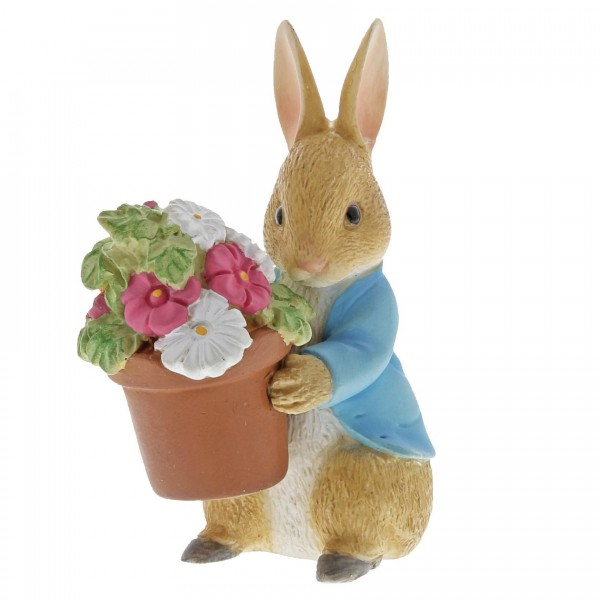 Beatrix Potter, Beatrix Potter Collection, Peter Rabbit, Benjamin Bunny, Flopsy, Jemima Puddle-Duck, Jeremy Fisher, A27579, Peter Rabbit Brings Flowers