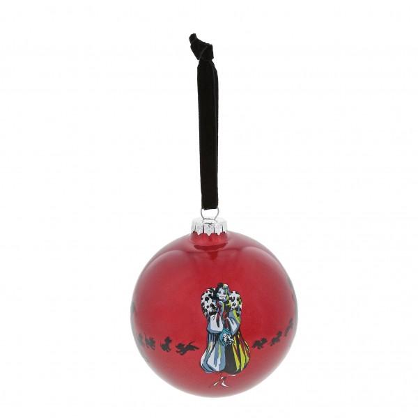 Enchanting Disney Collection, Disney Weihnachten, Disney Weihnachtskugel, A30002, Cruelle de Vil, One Classy Devil, 101 Dalmatiner, 101 Dalmations