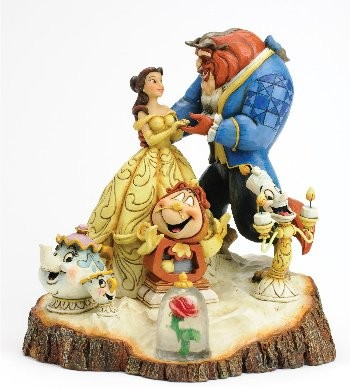 Disney Traditions, Jim Shore - Tale As Old As Time / Beauty & The Beast, Die Schöne und das Biest