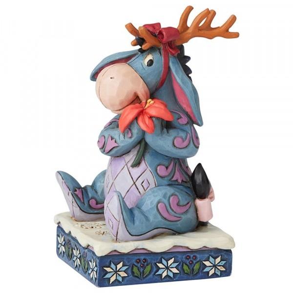 Disney Traditions von Jim Shore, Winter Wonders, Eeyore, I-Ah, Weihnachtsfigur
