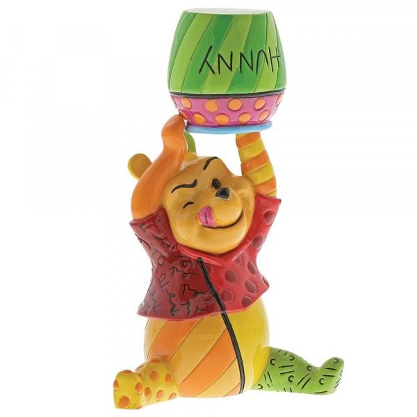 Romero Britto Pop Art aus Miami - Winnie Pooh with Honey Pot / Winnie Puuh mit Honigtopf