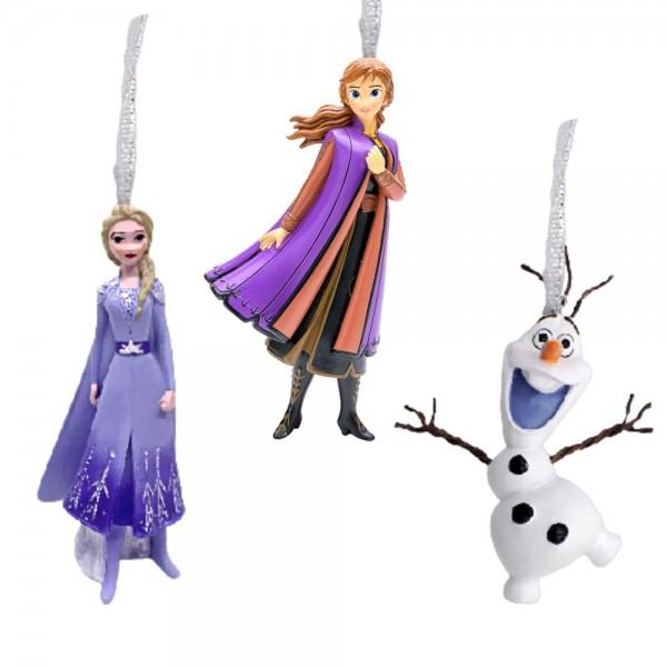 Disney, Walt Disney, Widdop and Co, Disney, Hanging Decoration, XM8671, Weihnachtsanhänger, Die Eiskönigin Weihnachtsschmuck, Frozen Christmas Ornaments, Elsa, Anna, Olaf