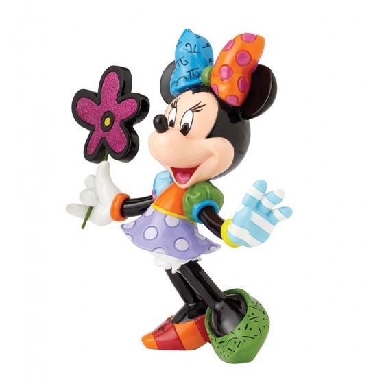 Romero Britto Pop Art aus Miami - Minnie Mouse with Flowers / Minnie Maus mit Blumen