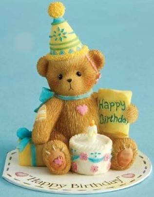 Cherished Teddies, Mini Happy Birthday