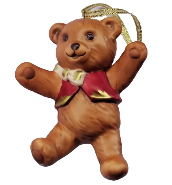 Goebel, Nina und Marco, Nina & Marco,Teddy Ornament, Anhänger
