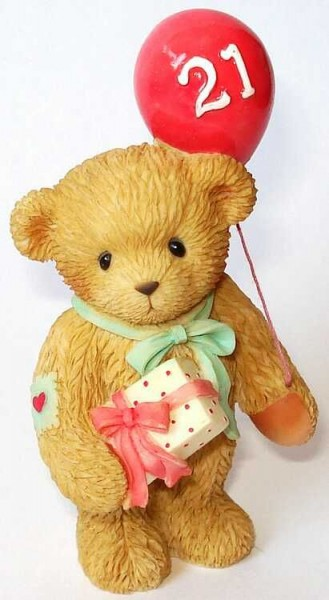 Cherished Teddies, Happy 21st Birthday