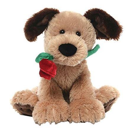Deangelo - Hund mit roter Rose