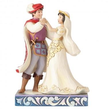 Disney Traditions, Jim Shore- The First Dance Snow White / Schneewittchen im Brautkleid