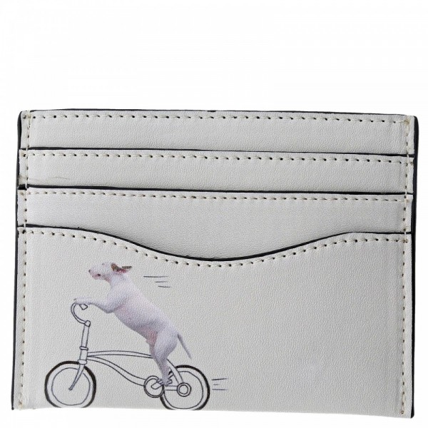 Jimmy The Bull, That's How He Rolls, Scheckkartenhülle, Card Holder, Pitbull, Bullterrier