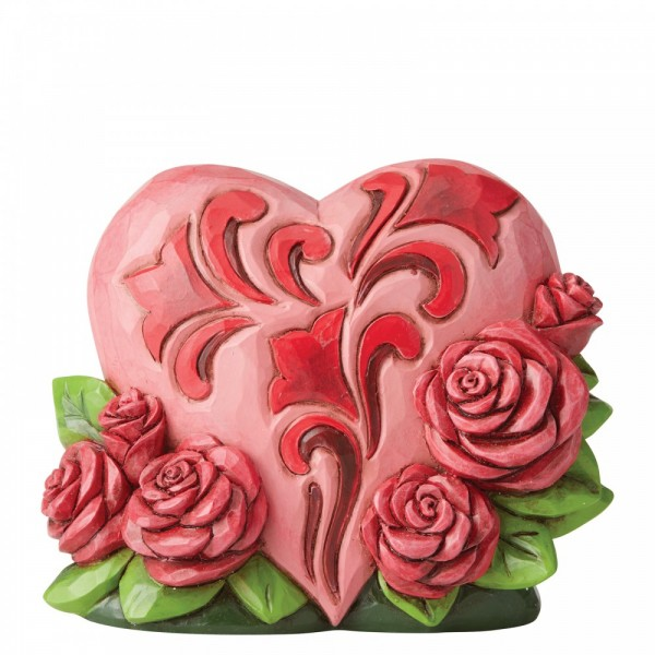Heartwood Creek, Jim Shore, Heart with Roses, Herz mit Rosen, Valentinstag, Muttertag