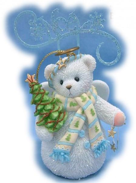 Cherished Teddies. Noel Snowbear Ornament, Anhänger