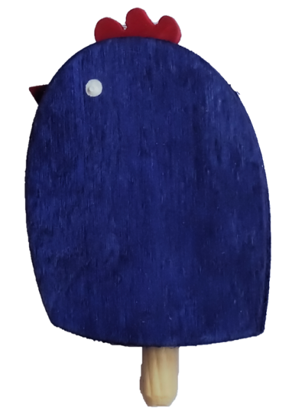 Sebastian Design, Candlering, Kerzenring, Kerzenringe, Skandinavischer Holzkranz,, Holzkränze, Skandinavische Kerzenringe, Küken, blaues Küken, 10-533-130