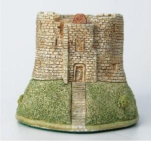 Lilliput Lane, Miniaturhäuser, Miniaturhaus, Cottage, Clifford's Tower York
