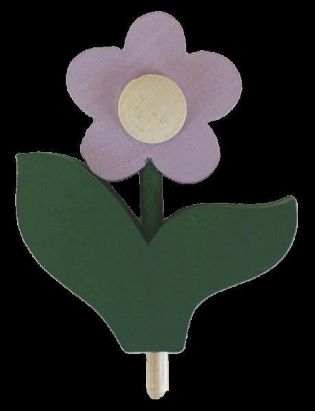 Sebastian Design, Sebastian Design Kerzenringe, Kerzenring, Candlerings, skandinavische Kerzenringe, Steckfiguren, Blume mit Blatt, 46-324
