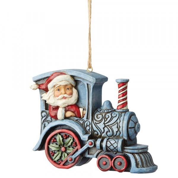 Heartwood Creek, Jim Shore, Santa in Train, Weihnachtsmann im Zug, Ornament, Anhänger