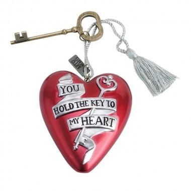 Art Hearts, Demdaco, Key To My Heart, Valentinstag, Herz